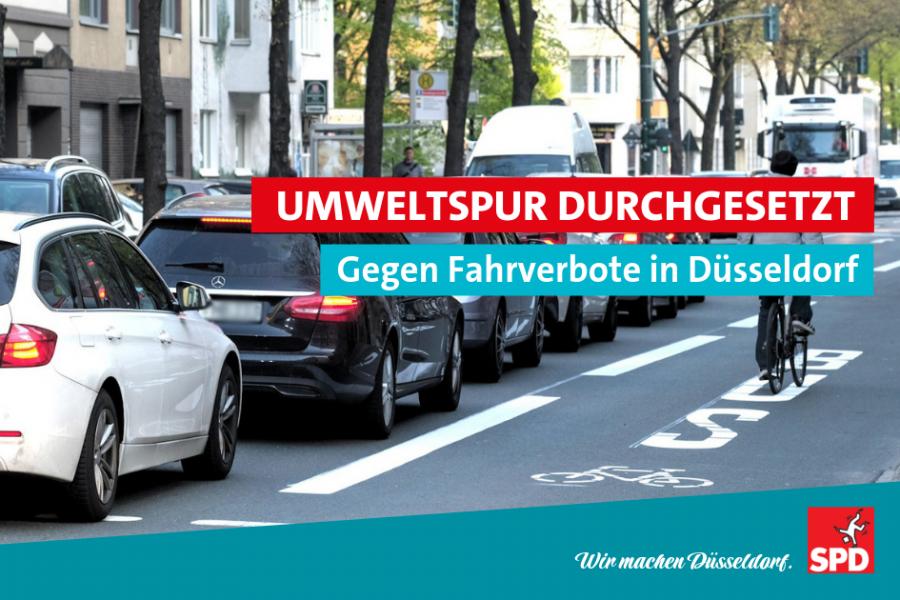 Umweltspur durchgesetzt SPD Düsseldorf