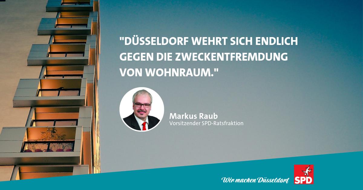 Wohnraumschutzsatzung Markus Raub SPD
